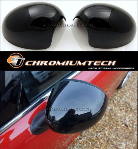 MK3 Mini Cooper//S//ONE F54 F55 F56 F57 F60 Noir Miroir Casquette Housses Pour RHD Modèle
