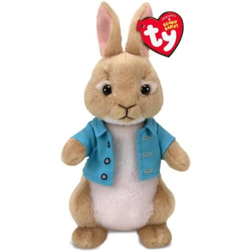 "TY Beanie Baby 8/"" COTTONTAIL Animal Plush MWMT/'s 2018 New! Peter Rabbit Movie"