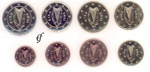 Irland Kursmünze - wählen Sie von 1 Cent - 2 Euro und alle Jahre - Neu