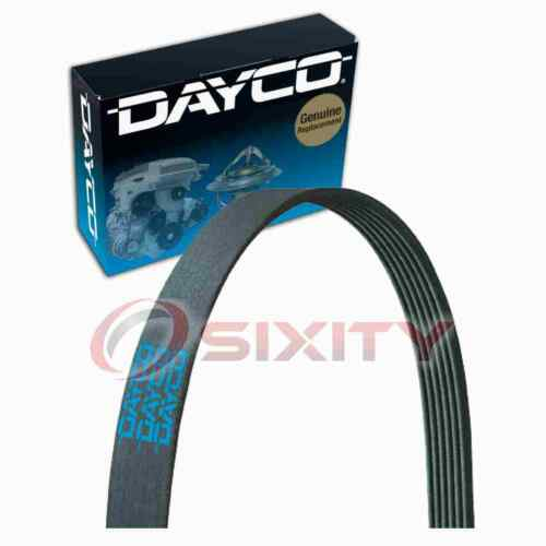 Dayco Main Drive Serpentine Belt for 1996-1999 Chevrolet P30 7.4L V8 as