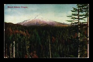 DR-JIM-STAMPS-US-MOUNT-ADAMS-OREGON-MOUNTAIN-TREES-POSTCARD