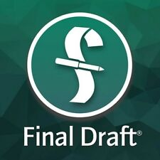 Final Draft 10 Screenwriting Software Full Version Download