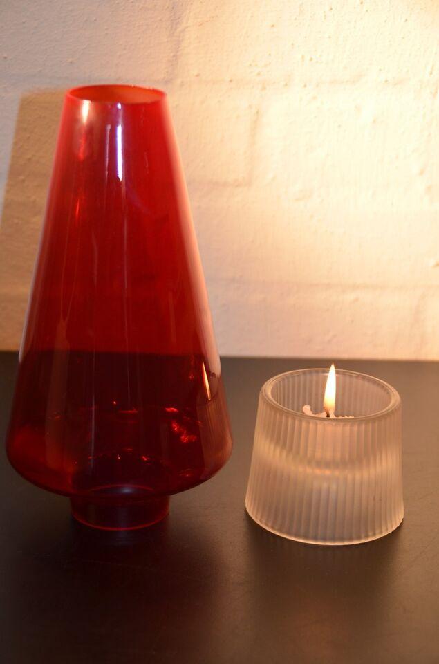 Glas, lysestage , Per Lütken