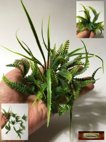 M00601 MOREZMORE 8 Artificial Plants 1:6 Scale Miniature Landscape Grass A60