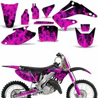 Graphic Kit Honda Cr125 Cr250 Dirt Bike Decal Backgrounds Sticker 02-03 Ice Pink