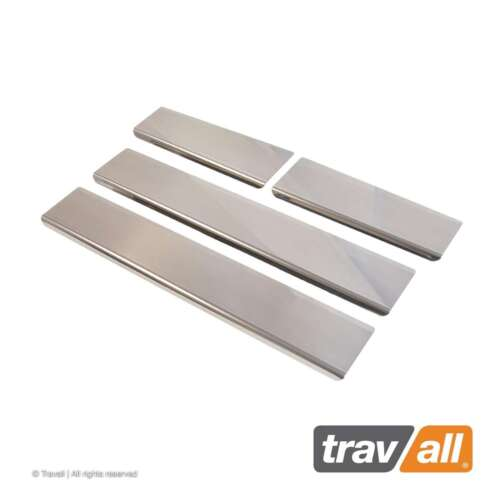 2011-2016 Genuine Travall Stainless Steel Sill Guards For Kia Sportage