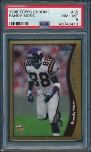 1998-Topps-Chrome-Football-Randy-Moss-ROOKIE-35-PSA-8-VIKINGS-NM-MT-HOF