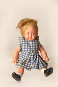 E-S-Germany-Little-Old-Doll-Girl-Ca-3-1-2in-60812