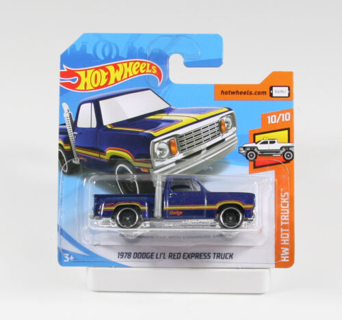 Hot Wheels Hot Trucks 2019 1978 Dodge Li´l Red Express Truck FYC60 1//64