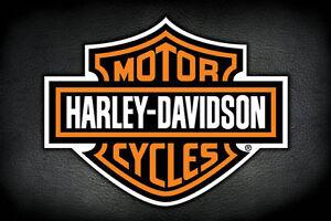 Harley-Davidson-Motorcycles-Logo-POSTER-61x91cm-NEW