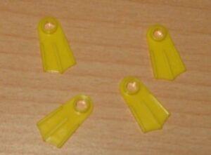 LEGO personnages de plongée palmes palmes en Jaune Nouveau  </span>