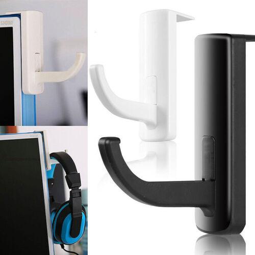 1PC Headphone Headset Hanger Monitor Stand Holder Headset Stick-on Hook