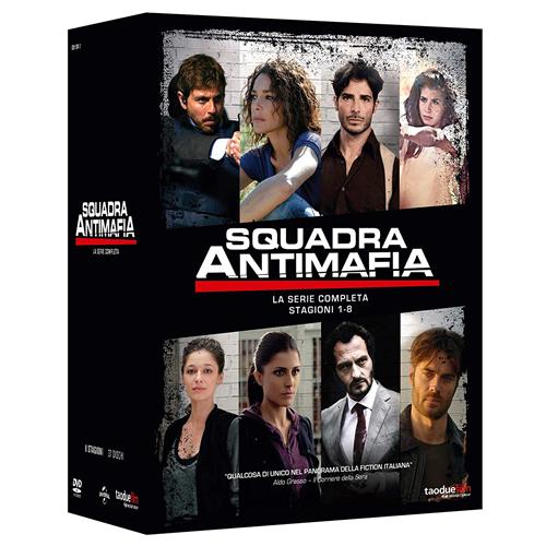 STV *** SQUADRA ANTIMAFIA - La Serie Completa (37 Dvd) *** sigillato