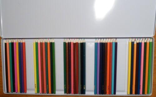 Sonstige Buntstifte 45 Artist's Coloured Pencils NEU in Blechschachtel GRAFIX Motorikspielzeug