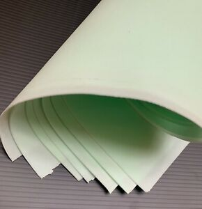 """silk foam 10 sheets for flowers handmade size 19,6/""""x19,6/"""" x 0.038/"""" foamiran"""