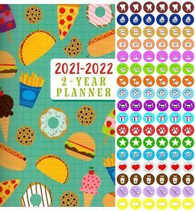 2021-2022 2 Year Pocket Planner/Calendar/Organizer - with ...