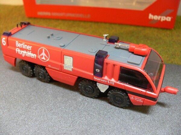 1 87 Herpa 090377 pinknbauer Panther Flughafenfeuerwehr Berlin