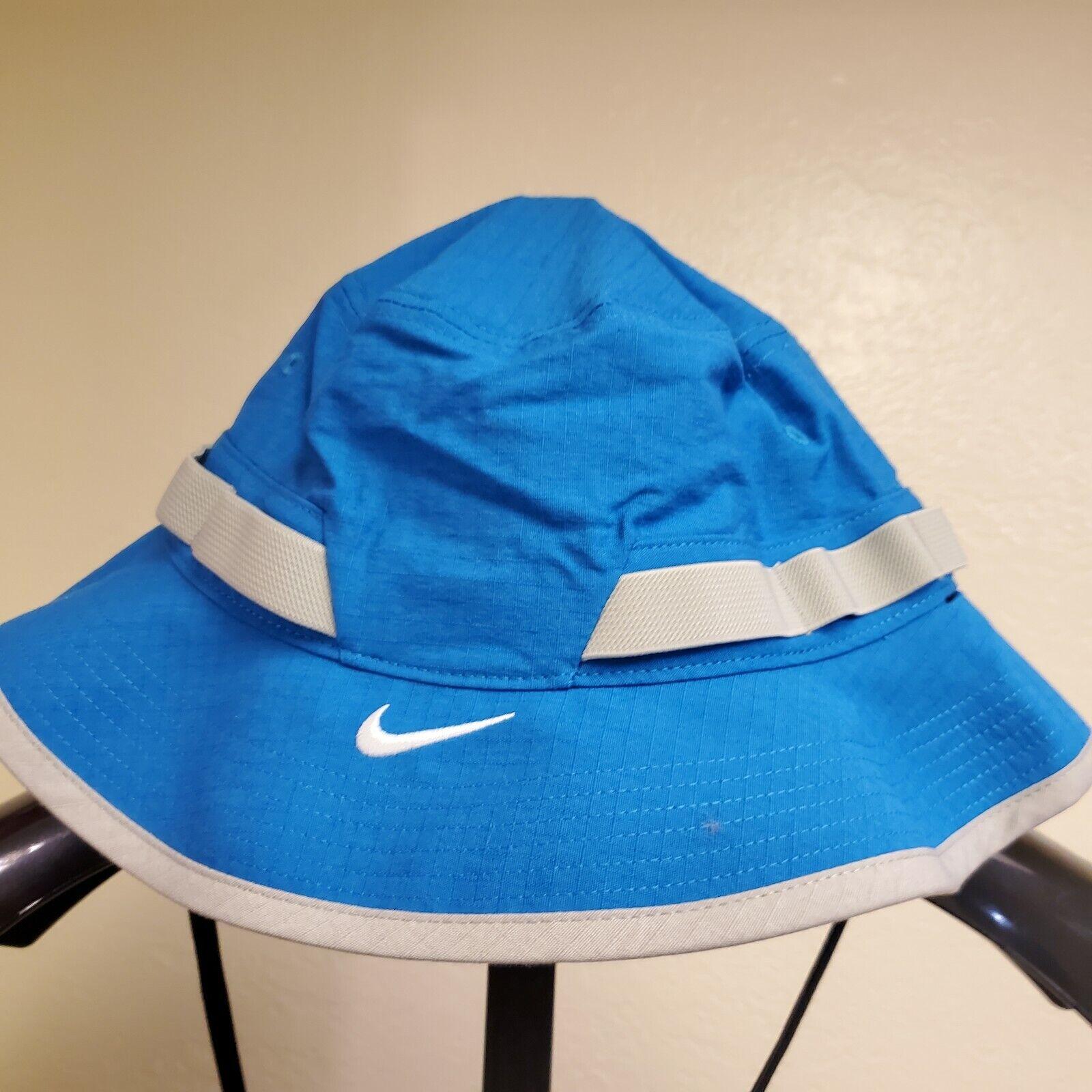 ! nuevo con etiquetas! Nike Dri-Fit equipo Aero Azul seco sombrero del cubo CU6611-400   Tamaño Grande