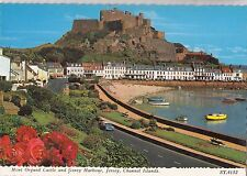 BF24996 mont orgueil castle and gor  jersey c i  united kingdom front/back image
