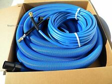 Carpet Cleaning 50ft Vacuum Amp Solution Hoses 1 12 Wand Cuff Connect