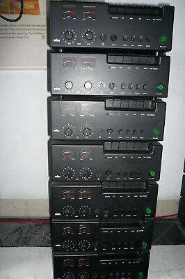 7 Braun Vintage Audio ,tgc 450, Design Dieter Rams, 1975 , Einzelpreis 150,00