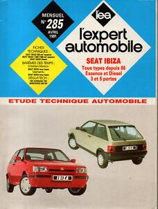 Rta Revue Technique Automobile N° 285 Seat Ibiza Essence Et Diesel Les Clients D'Abord
