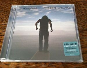 Elton-John-The-Diving-Board-CD-2013-New-Sealed-Drill-Hole-In-Back-of-CD