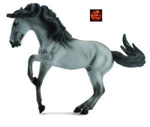 Lusitano Grey Stallion Horse Toy Model Figure by CollectA 88502 Brand New