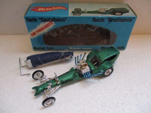 Mebetoys Mattel Spa 6603 Dragster Trantula Etat Neuf En Boite Originale Exc