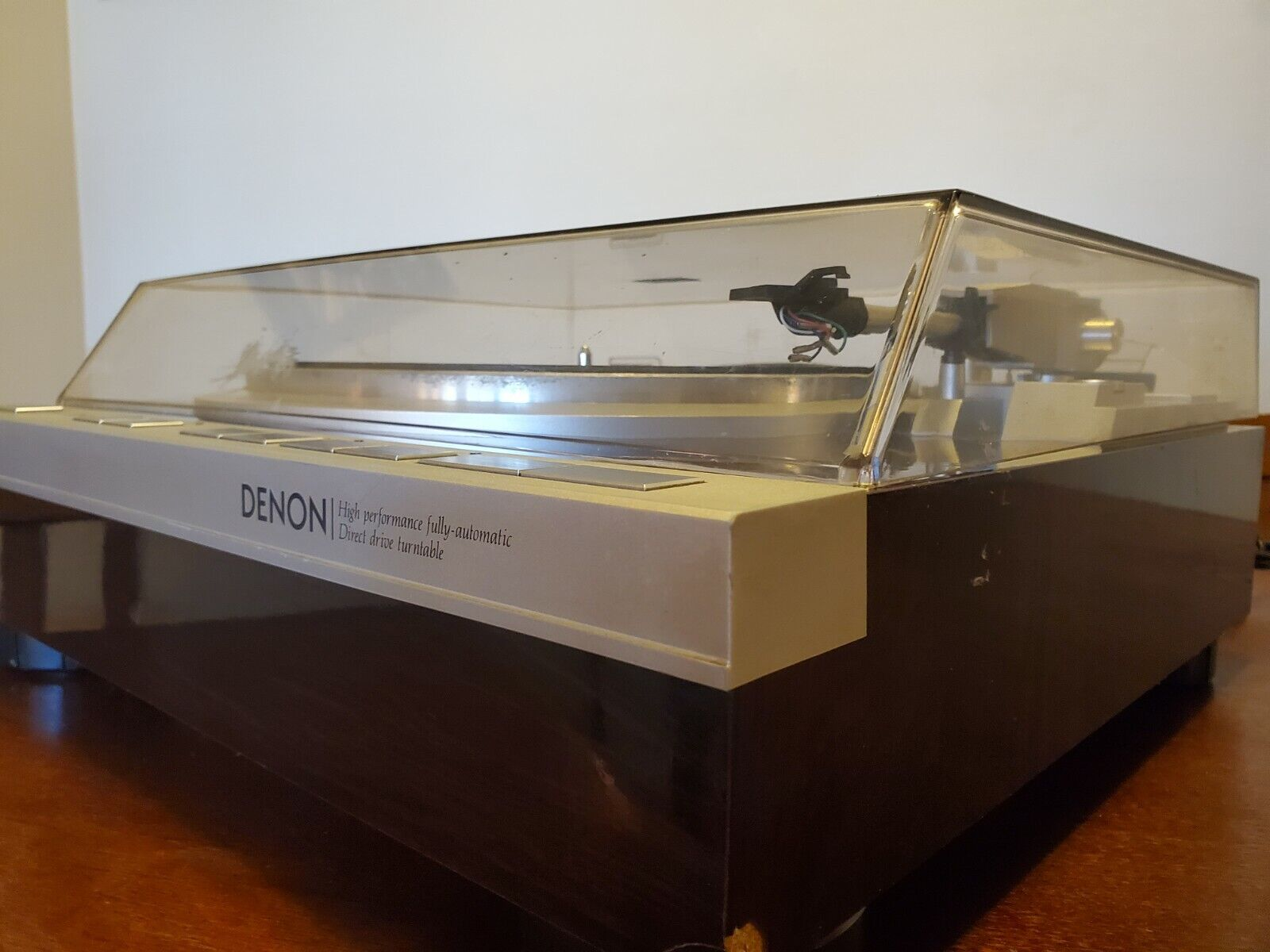 Denon DP-47F Record Player Turntable Direct Drive Fully Automatic AC100V Vintage. Buy it now for 350.00