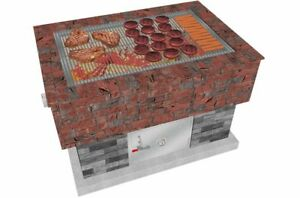 BrickWood-Box-Grill-Grate-Stainless-Steel-Grill-Fire-Pit-Grill-Grate