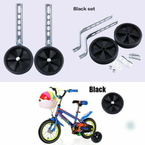 "Children Bike Bicycle Training Wheels Side Wheels For 12-20/"" Bikes Balance"