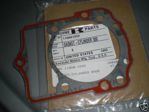 NOS Kawasaki KLF300 Cylinder Base Gasket 11060-1652