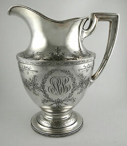 Sterling-Water-pitcher