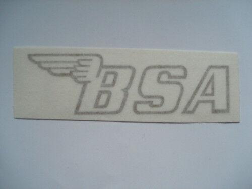BSA Flügel Bild Schriftzug Wasserabziehbild Abziehbild rod red decal
