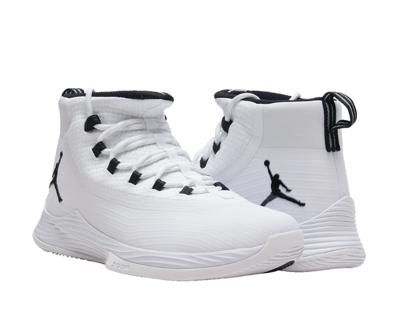 Jordan Ultra Fly 2 White Black Men's High Top Sneakers Sz 10.5 2150