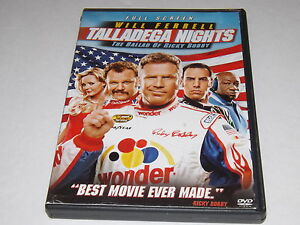 talladega nights the ballad of ricky bobby dvd 2006 full screen edition 43396158658 ebay. Black Bedroom Furniture Sets. Home Design Ideas