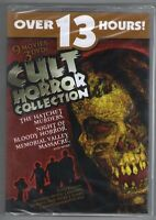 Cult Horror Collection Dvd Nine Movies On Three Discs