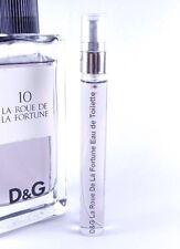 Dolce & Gabbana D&G # 10 La Roue De La Fortune 10ml Travel SAMPLE EDT 0.33 oz