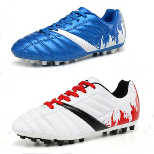 Fashion Men/'s Boys Soccer Shoes Cleats Football Indoor Sports Trainers Sneakers