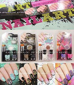 La girl nail art kits nail polish sets do it yourself its image is loading l a girl nail art kits nail polish sets solutioingenieria Choice Image