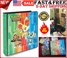 Pokemon Card Collect Pro Album Protector Binder Sheets Holder Book