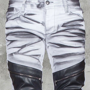 kingz petrol biker herren jeans denim alle gr neu ebay. Black Bedroom Furniture Sets. Home Design Ideas