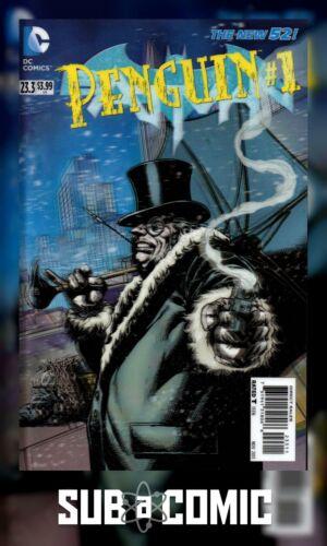 DC COMICS 2013 1st Print BATMAN #23.3 PENGUIN 3D COVER