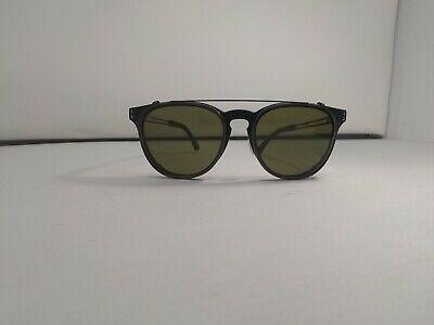 Polarized CPG 8055 Serengeti Palmiro Clip On Sunglasses Satin Tortoise
