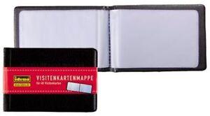 Details About Idena Business Card Binder For 40 Cards Credit Cards Binder Album Kartenbox Pouch Show Original Title