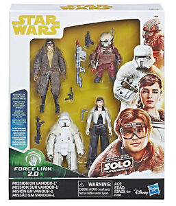 STAR WARS SOLO: MISSION on VANDOR-1 4-PACK