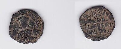 126990 HüBsch Und Bunt Byzanz Constantin Vii Romanus I. Bronze Münze Follis 913-959 N.chr