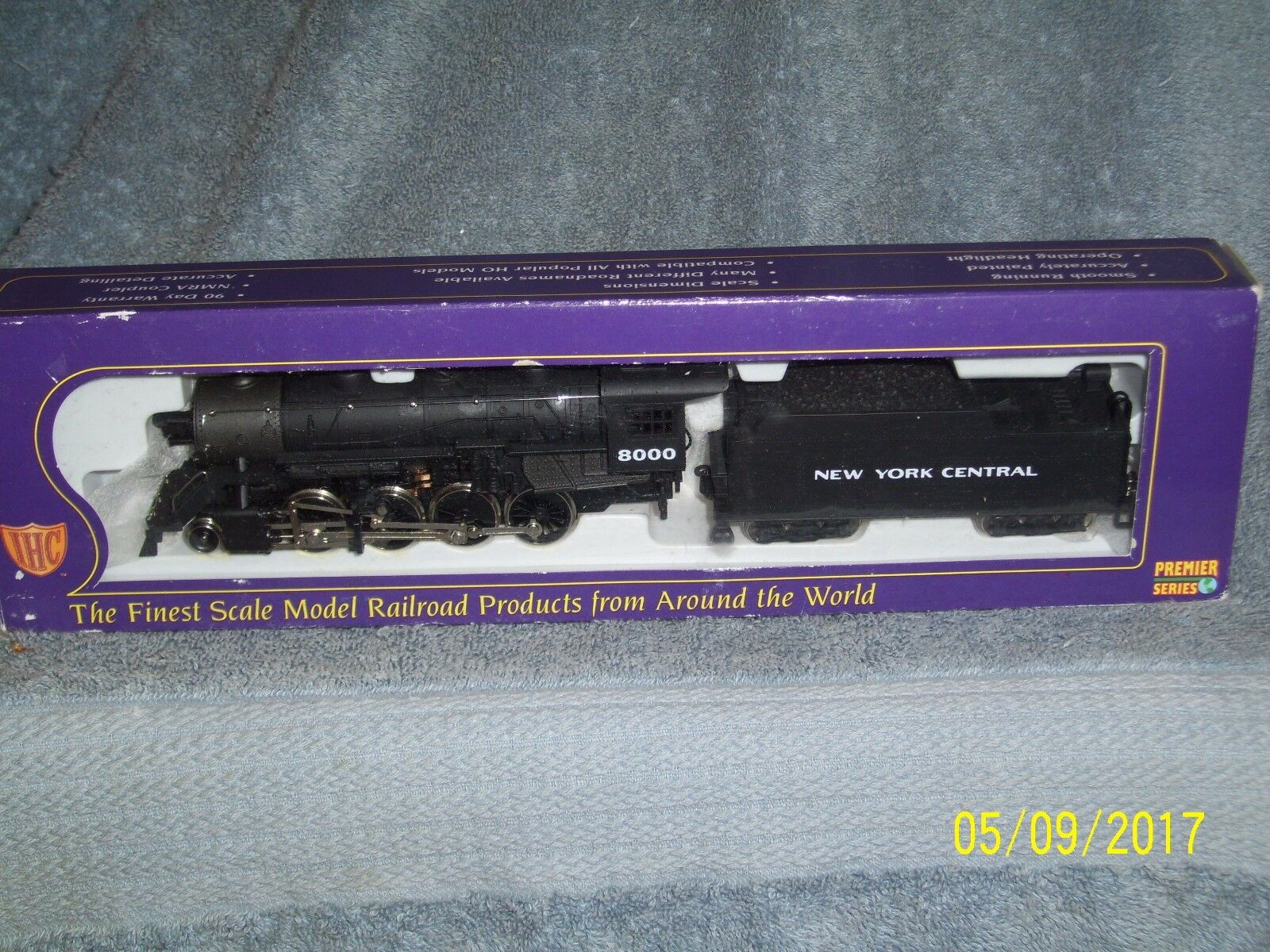 IHC PREMIER HO SCALE  M9528  2-8-0 CONSOLIDATION NEW YORK CENTRAL  8000