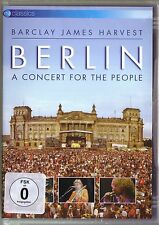 DVD (NEU!) BARCLAY JAMES HARVEST Berlin Concert for the People (Live+Bonus mkmbh